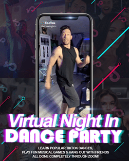 Virtual Night In Dance Party